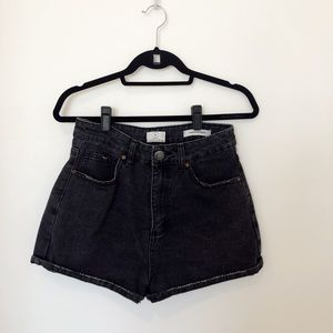 Cotton On High Rise Paper-bag Shorts